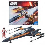Космический корабль X-Wing с фигуркой По Дамерона Star Wars B3953