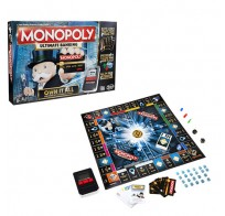 Monopoly B6677 Монополия с банковскими картами - обновленная