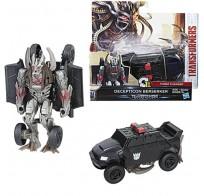 Transformers Hasbro C0884/C2823 Трансформеры 5: Уан-степ Десептикон Берсеркер