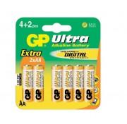 Батарейки GP 6 шт упаковка АА