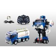 1toy робот на р/у, трансформируется в грузовик, со светом и звуком, 38см Т11024