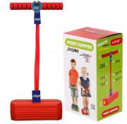 Тренажер для прыжков Moby Kids Moby-Jumper со счетчиком, светом и звуком ( 68559) красный
