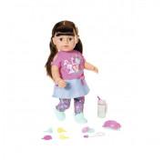 Кукла Baby Born Нежные объятия Стильная сестренка с аксессуарами 43 см 827185 Zapf Creation