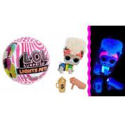 Куклы-сюрприз питомцы LOL Surprise Lights Pets (светящиеся в ультрафиолете) 564881