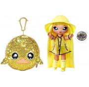Кукла Na Na Na Surprise Sparkle Series 1 Daria Duckie (желтая уточка): первая сверкающая серия с 6 мягкими куклами 573777