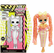 Кукла LOL Surprise OMG Lights Dazzle (светится в темноте) Fashion Doll 15 Surprises 565185