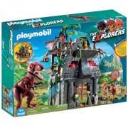 Динозавры. Затерянный храм с тиранозавром PLAYMOBIL The Explorers 9429pm