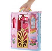 Переносной Радужный дворец Barbie FTV98