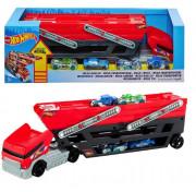 Набор машин Hot Wheels Mega Hauler (FPM81) Автовоз и 4 машинки