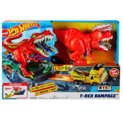 Трек Hot Wheels City T-Rex Rampage GFH88