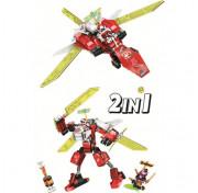 Конструктор Lari Ninjago - Реактивный самолёт Кая 229 деталей 11483