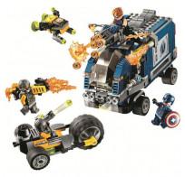 Конструктор Lari Revenger - Мстители: Нападение на грузовик 501 деталей 11506