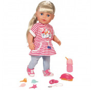 Интерактивная Кукла Сестричка Бэби Борн, 43 см Baby born Zapf Creation 824-603