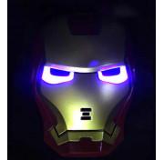 Маска супергероя Железный Человек Iron man светящаяся