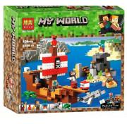 Конструктор BELA My World 11170 Приключения на пиратском корабле