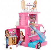 Фургон Mattel Barbie для путешествий Barbie Pop-up Camper CJT42