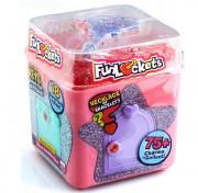 Шкатулка-лабиринт с секретами Funlockets, 18 сюрпризов, для девочек S18200 (розовая)