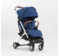 Прогулочная детская коляска Yoya Plus 3 2019, cиний (черно-белая рама)