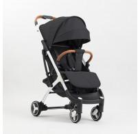 Прогулочная детская коляска yoya plus 3 2019, черный (черно-белая рама)