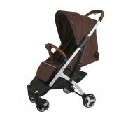 Прогулочная детская коляска yoya plus 3 2019, коричневая (черно-белая рама)