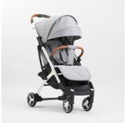 Прогулочная детская коляска yoya plus 3 2019, серый (черно-белая рама)