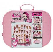 Игровой набор LOL Surprise fashion show on the go storage Модный контейнер для кукол ЛОЛ 562689