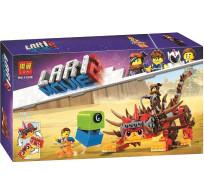 Конструктор Lari Movie 2 Ультра-Киса и воин Люси 360 деталей 11246