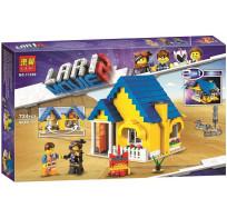 Конструктор Lari Movie 2 - Дом мечты/Спасательная ракета Эммета 724 детали 11250
