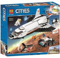Конструктор Lari Cities - Шаттл для исследований Марса 285 деталей 11385
