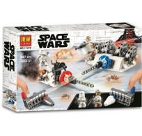 Конструктор Lari Space Wars - Разрушение генераторов на Хоте 247 деталей 11418