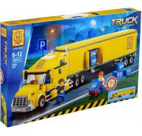 Конструктор Lion King Truck - Грузовик трейлер 298 деталей 180031