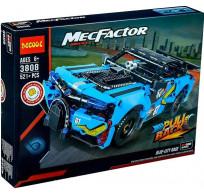 Конструктор Decool Technic MecFactor - Синий гоночный автомобиль 521 деталь 3808