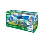 BRIO Smart Tech Вагоноремонтная мастерская 33918