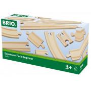 BRIO Ж/д полотно 11 дет 33401