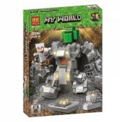 Конструктор Lari (Бела) Minecraft Робот Титан 11135