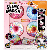 Пончики Poopsie Slime Smash Berry Blitz with Crunchy Donut Slime, Multicolor - Радужные пончики Sprinkle Spree со слаймом 569268