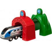 BRIO Smart Tech Набор электропоезд и туннели 33834