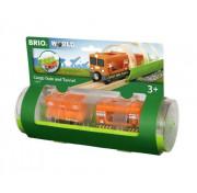 BRIO Грузовой вагон и туннель (3 элемента) 33891