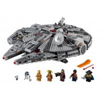 Конструктор LEGO Star Wars 75257 Episode IX Сокол Тысячелетия 1351 деталь