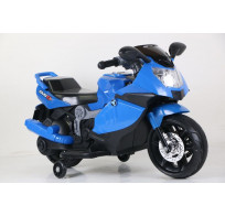 Мотоцикл на аккумуляторе, цвет синий