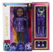 Кукла Rainbow Surprise High Indigo Jett Dawson – Dark Blue Purple - Девочка с темно-фиолетовыми волосами 572114