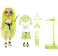 Кукла Rainbow High Karma Nichols – Neon Green Fashion Doll - Девочка с неоновыми (желто-салатовыми) волосами 572343