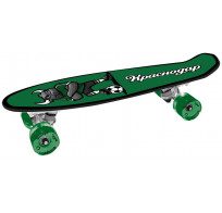 "Скейтборд ""Краснодар"", дека: PP с принтом, размер 22""*6"", колеса: 60*45мм 78А, PU, ABEC-7"