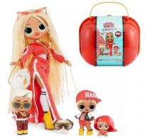 Набор с куклой L.O.L. Surprise! чемодан ЛОЛ семья Сваг OMG Swag Family LOL MGA 422099