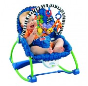 Кресло-качалка Fisher Price растет вместе с ребенком