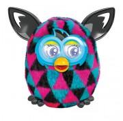 Ферби Бум на русском, интерактивная игрушка  Furby Boom ромбики Hasbro