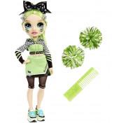 Кукла Rainbow High Cheerleader Squad Jade Hunter green, зеленая кукла-чирлидер 572060