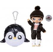 Кукла Na Na Na Surprise Sparkle Series 1 Penguin Boy Andre Avalanche (мальчик-пингвин): первая сверкающая серия с 6 мягкими куклами 573784