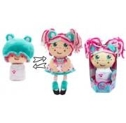 Девчушка вывернушка Надюшка Т13638 1TOY кукла плюшевая 2в1