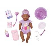 Интерактивная кукла Zapf Creation 822-026 Baby Born Этническая Мулатка, 43 см